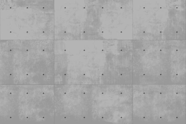 Fondo monolitico del muro di cemento grigio di vettore. edilizia industriale. sfondo moderno loft Vettore Premium