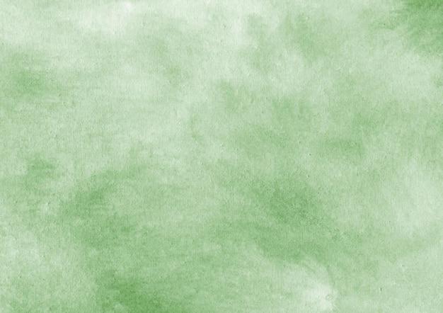 Sfondo verde acquerello Vettore Premium