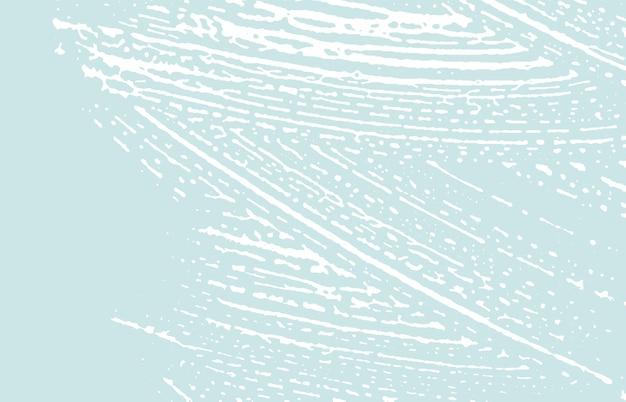 Struttura del grunge. traccia ruvida blu di emergenza. sfondo abbagliante. rumore sporco grunge texture. potente superficie artistica. Vettore Premium