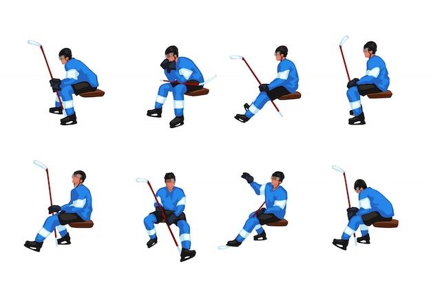 Hockey sit set Vettore Premium