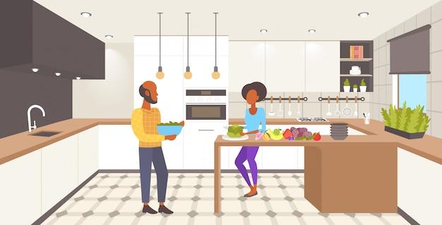 Cucina interna Vettore Premium
