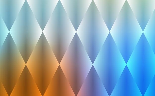 Sfondo blu chiaro, giallo vettoriale con rettangoli, quadrati. Vettore Premium