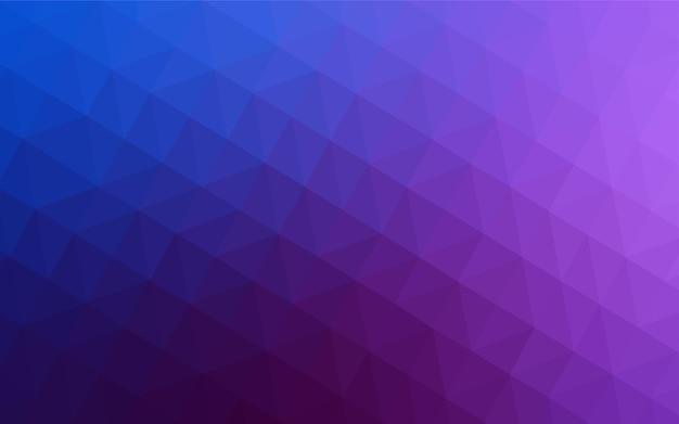 Trama di triangoli sfumati rosa chiaro, blu. Vettore Premium
