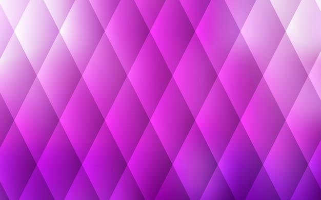 Layout di vettore rosa chiaro con linee, rettangoli. Vettore Premium
