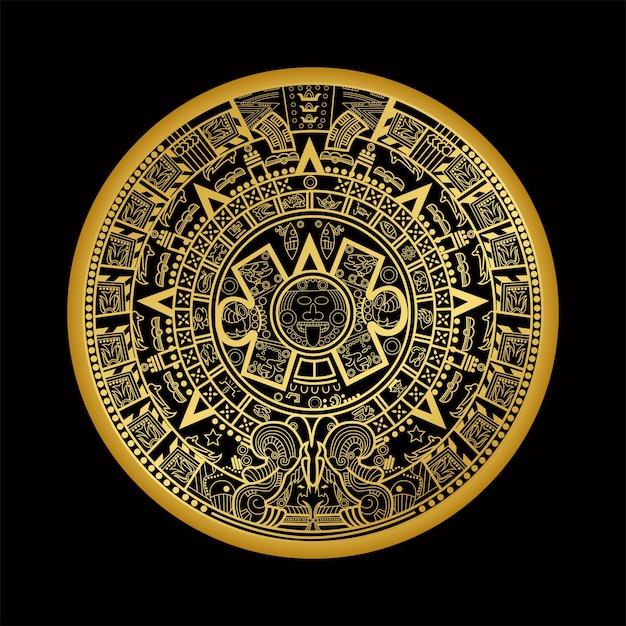 Maya azteco Vettore Premium
