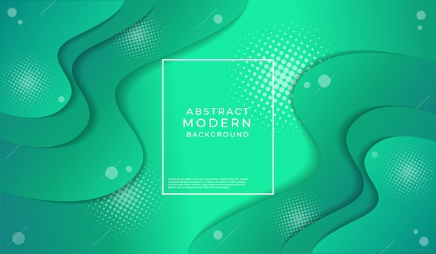 Fondo astratto moderno di struttura di verde smeraldo Vettore Premium