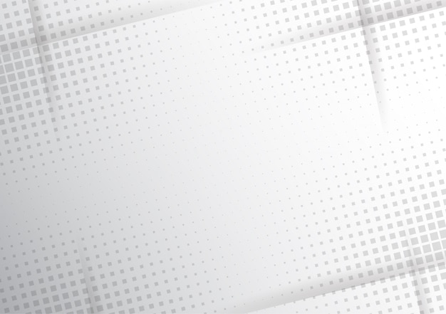 Mezzitoni moderni bianchi e grigi Vettore Premium