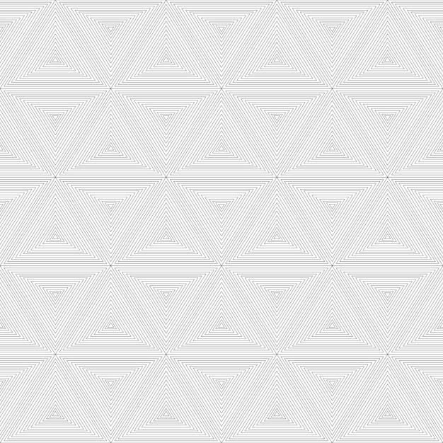 Modello geometrico astratto senza cuciture moderno. Vettore Premium