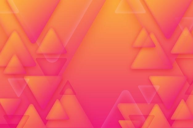 Sfondo di triangoli sovrapposti Vettore Premium