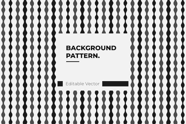 Pattern art texture visual abstract loop sfondo grafico Vettore Premium