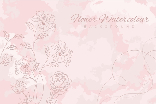 Sfondo rosa pastello in polvere Vettore Premium
