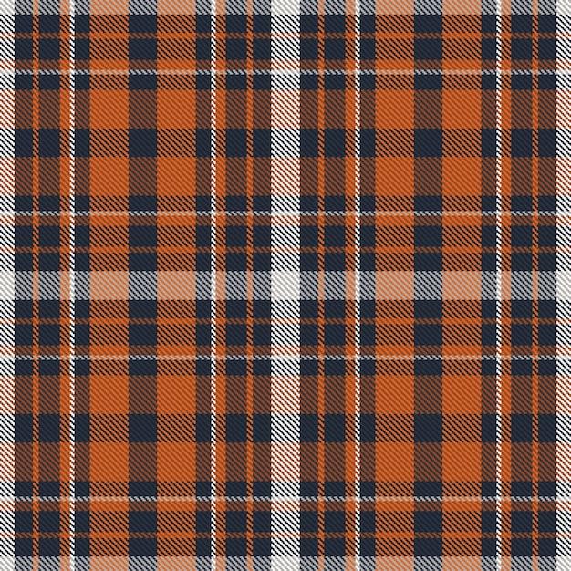 Modello plaid senza soluzione di continuità. controlla la trama del tessuto. sfondo quadrato a strisce. tartan di design tessile. Vettore Premium