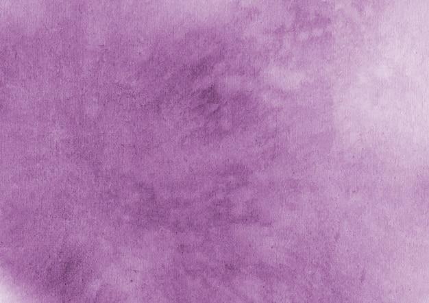 Sfondo acquerello viola Vettore Premium