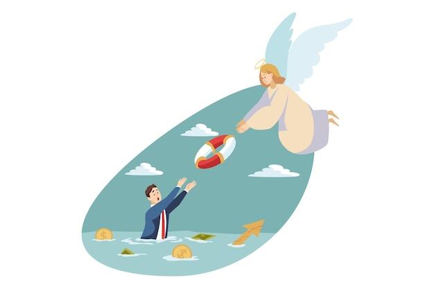 Illustrazione religiosa Vettore Premium