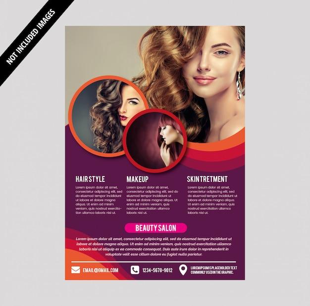 Brochure del salone Vettore Premium