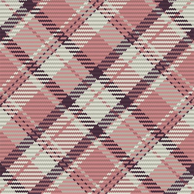 Modello senza cuciture di plaid scozzese scozzese. sfondo ripetibile con trama del tessuto check. sfondo vettoriale piatto di stampa tessile a strisce. Vettore Premium