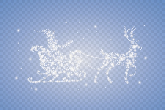 Set di ghiaccioli di neve isolato su sfondo trasparente. Vettore Premium