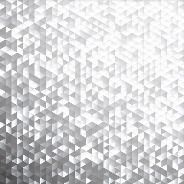 Motivo a mosaico paillettes lamina scintillante grigio argento. Vettore Premium