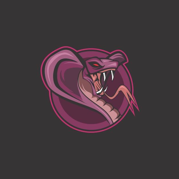 Logo serpente Vettore Premium