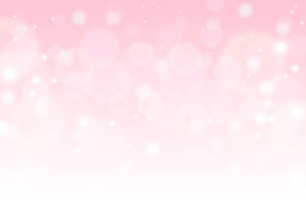 Morbido sfondo colorato bokeh Vettore Premium