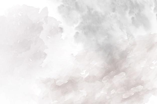 Sfondo acquerello astratto grigio morbido Vettore Premium
