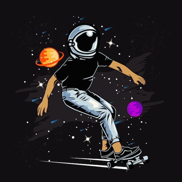 Space skater Vettore Premium