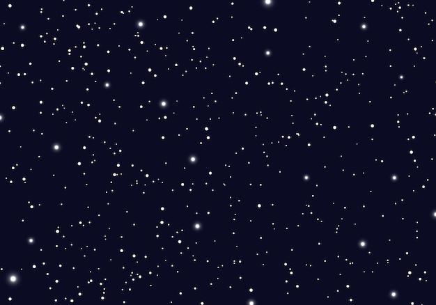 Spazio con stelle universo spazio infinito sfondo Vettore Premium