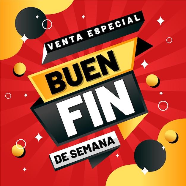 Offerte speciali anual messicano vendite punti neri e dorati Vettore Premium