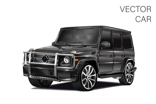 Illustrazione di auto sportive Vettore Premium