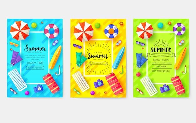 Set di carte brochure ora legale. modello di ecologia di riviste, poster, copertine di libri, banner. Vettore Premium