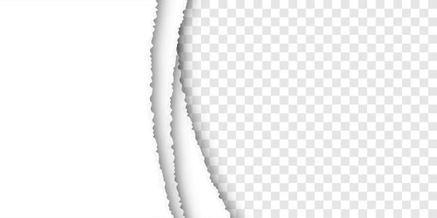 Sfondo di carta strappata Vettore Premium