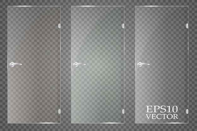Luce solare trasparente speciale lente bagliore effetto luce. Vettore Premium
