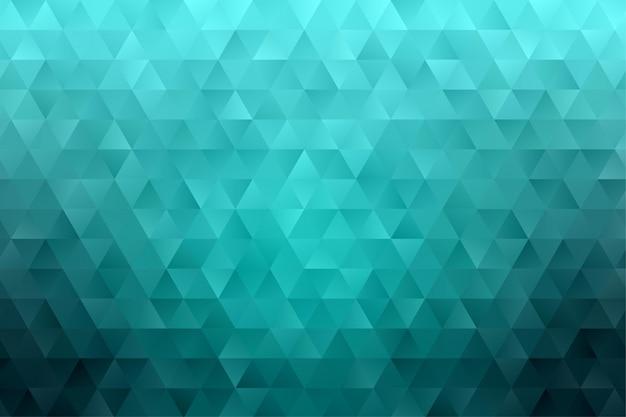 Vettore astratto geometrico della carta da parati del fondo del poligono del triangolo Vettore Premium