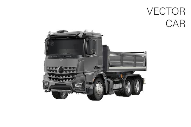 Illustrazione del camion Vettore Premium