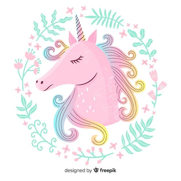 Unicorno Vettore Premium