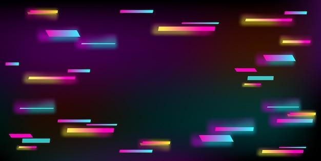 Illustrazione vettoriale di uno sfondo astratto glitch. Vettore Premium
