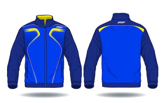 Illustrazione vettoriale di giacca sportiva. Vettore Premium