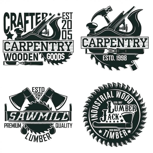 Logo vintage Vettore Premium