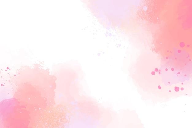 Disegno ad acquerello sfondo pastello Vettore Premium