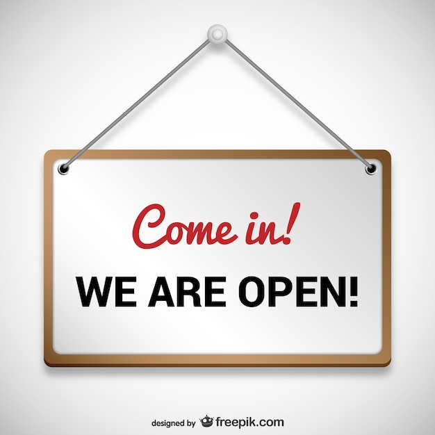 Siamo segno aperto Vettore Premium