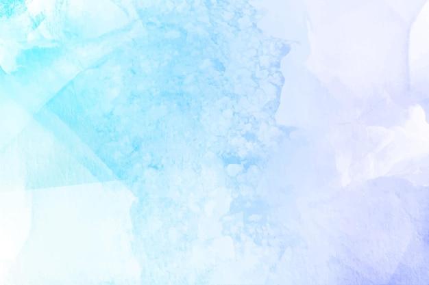Sfondo invernale dipinto con acquerelli Vettore Premium