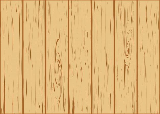 Sfondo di legno da tavole Vettore Premium