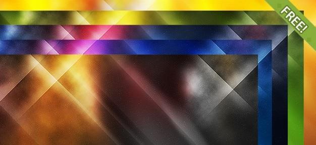 10 gratis abstract achtergronden Gratis Psd