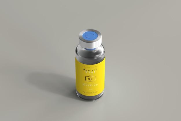 10 ml flesje fles mock-up Gratis Psd