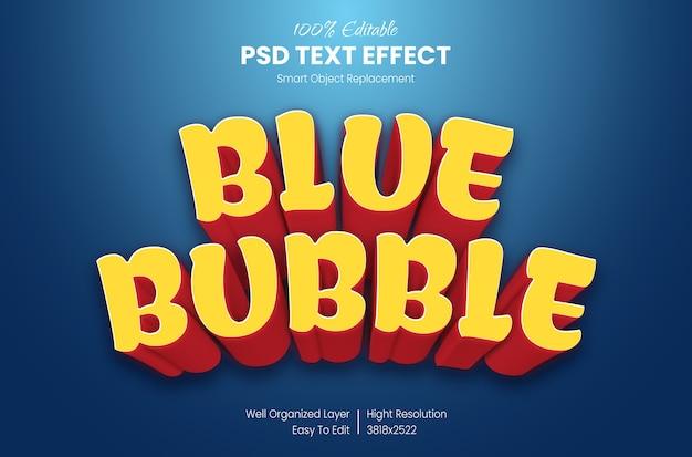 3d cartoon teksteffect Premium Psd