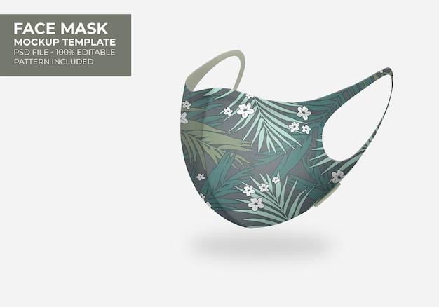 3d-masker mock-up Gratis Psd
