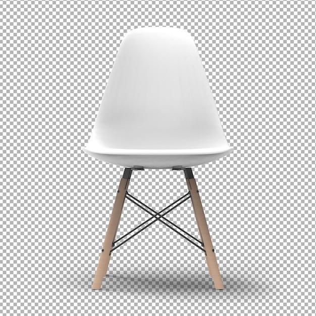 3d moderne stoel geïsoleerd Premium Psd