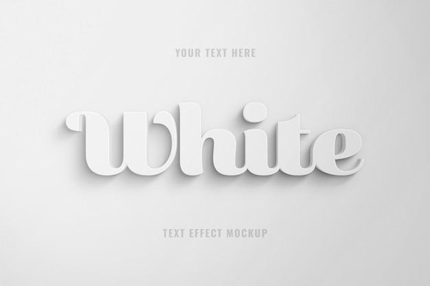 3d-mollig teksteffect sjabloon Premium Psd