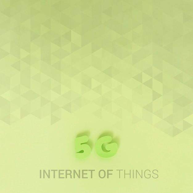 5 g wifi-verbinding voor nieuwe technologie Gratis Psd