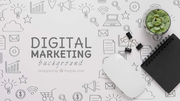 5g wifi-verbinding voor digitale marketing Gratis Psd